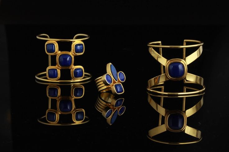 Lapis Lazuli & gold