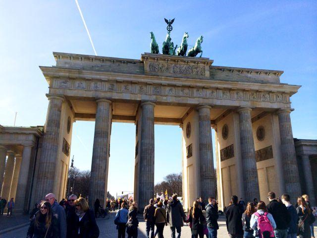 A weekend in Berlin - Brandenburg Gate.