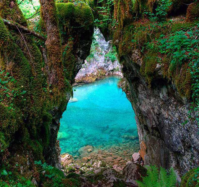 Mrtvica Canyon @ Montenegro...It looks so surreal.