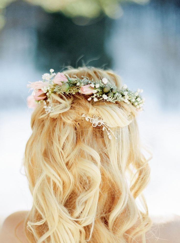 Photography : Peter & Veronika Photography Read More on SMP: http://www.stylemepretty.com/destination-weddings/2016/02/09/whimsical-pastel-winter-fairy-tale-wedding/