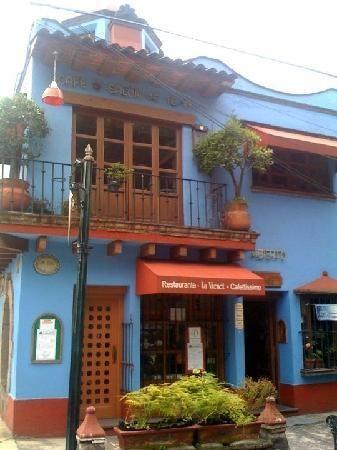 Esta es la exterior de panadería en Mexico City, Mexico. Su nombre es La Vienete.