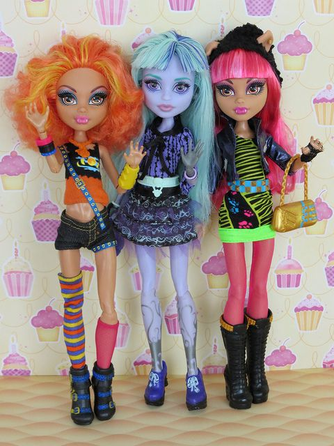 Young ghouls of Monster High