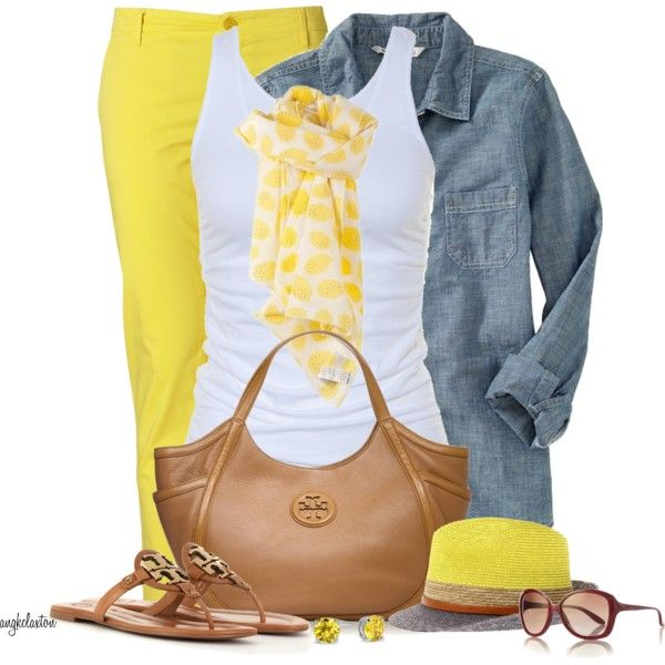 Casual Outfit: Chic Outfit, Summer Fashion, Casual Outfit, Cute Summer Outfit, Spring Summ, Fashionista Trends, Color Jeans, Work Outfit, Spring Outfit