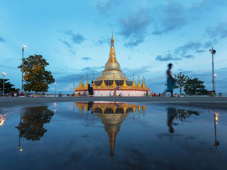 The shining star of Myanmar, this soaring temple and ancient Buddhist stupa sits on a high hill at the heart of the country's largest city, Yangon. The temple is like a small city, dominated by a 325-foot gilded spire at its center, says Expedition Unknown host Josh Gates.