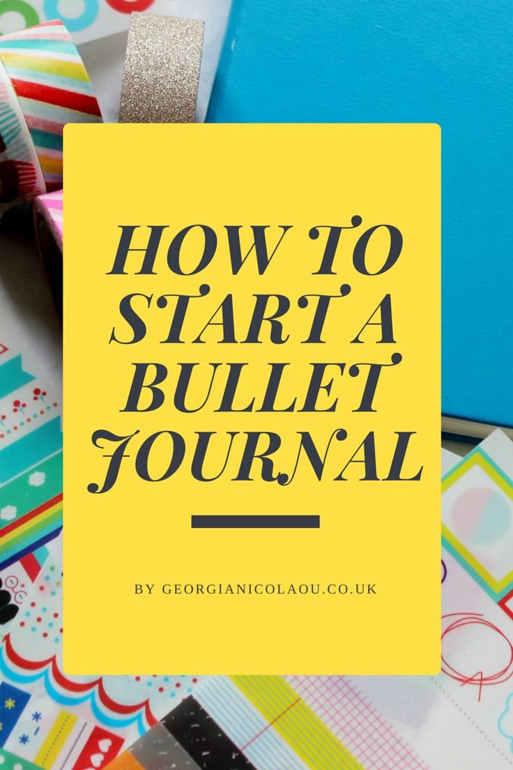 Hey guys, welcome to the second installment in my Bullet Journal series. In this edition I am going to be teaching you all How to Start a ...