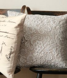 Lacy Cushion Cover from H