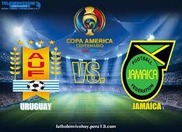 Uruguay 3 Jamaica 0 in 2016 in Santa Clara. Both teams knew before kick off that this was the last game at Copa America in Group C.