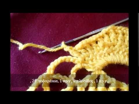 Οδηγίες βήμα προς βήμα  για πλέξιμο με βελονάκι... Μέρος 1ο