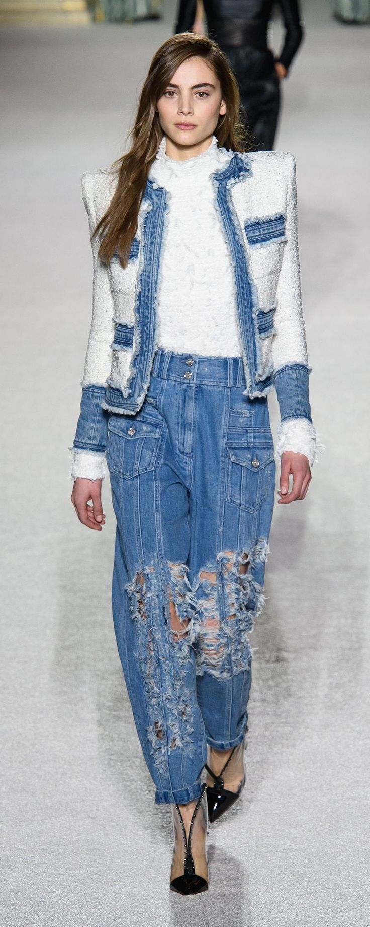 Denim on Denim fall-winter trends fotos