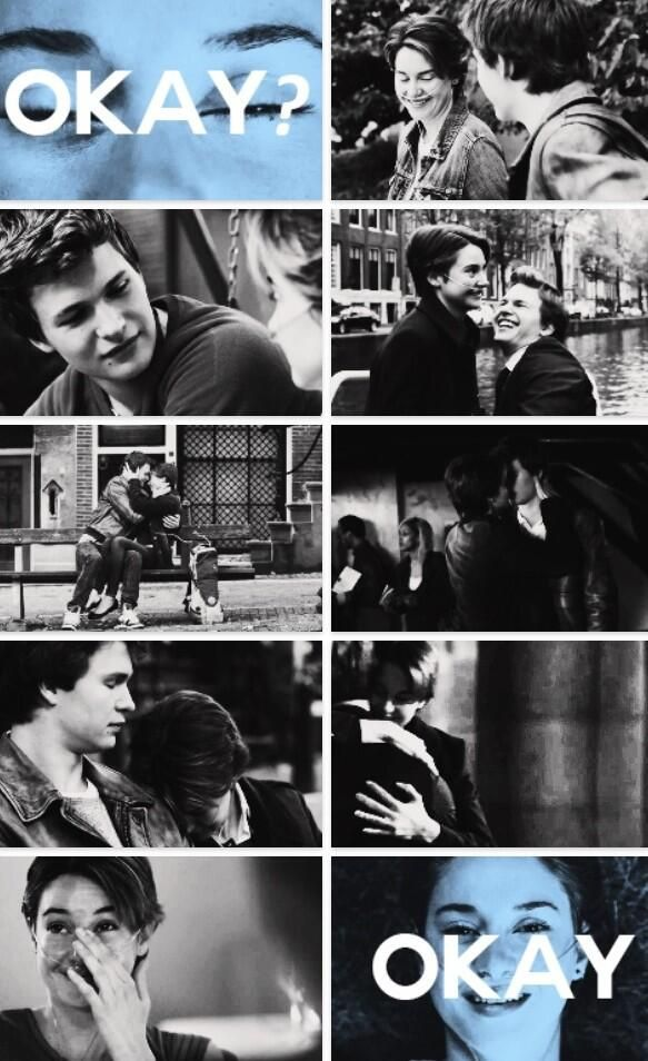 I saw the movie and i literally cried the entire time!! It was the best love story i ever read and saw <3