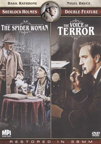The Sherlock Holmes Double Feature: The Spider Woman/Sherlock Holmes and the Voice of Terror [DVD]
