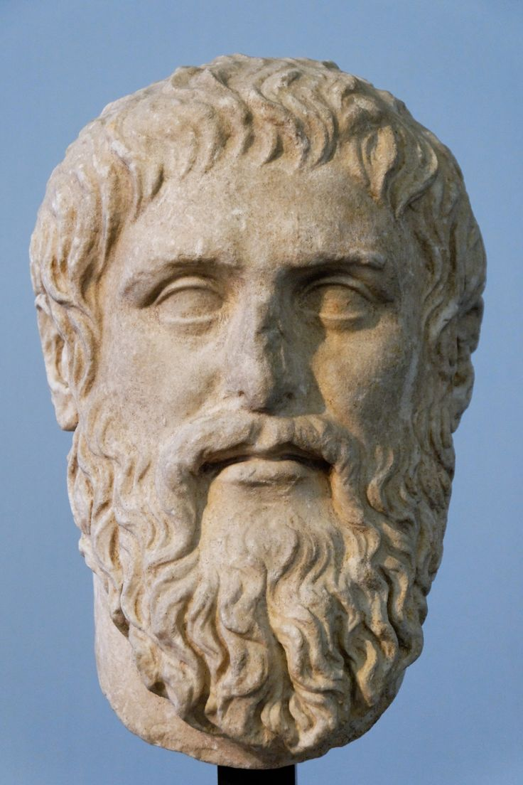 """Bust of Plato. """"The safest general characterisation of the"""