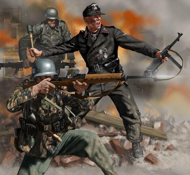Battle of Berlin 1945 - Johnny Shumate