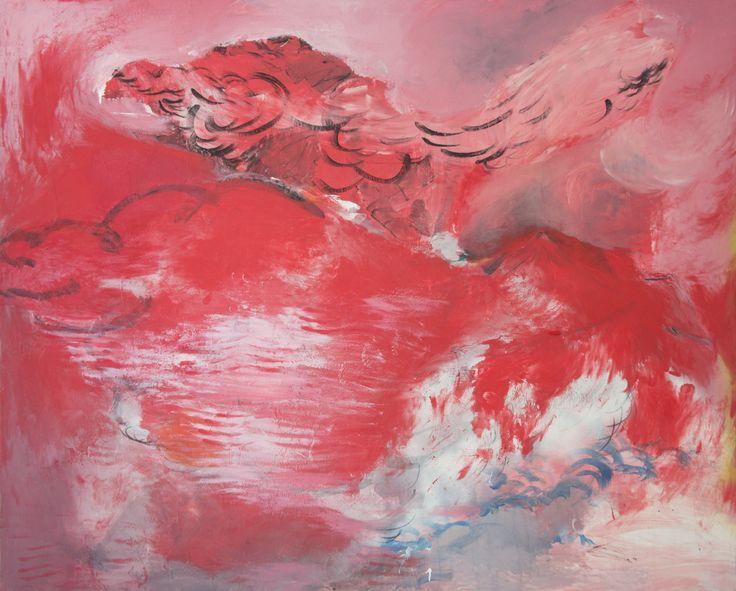 "paintingsinlove: "" Eduardo Infante SWII. 2016. Mixed media on canvas. 160 x 200 cm. """