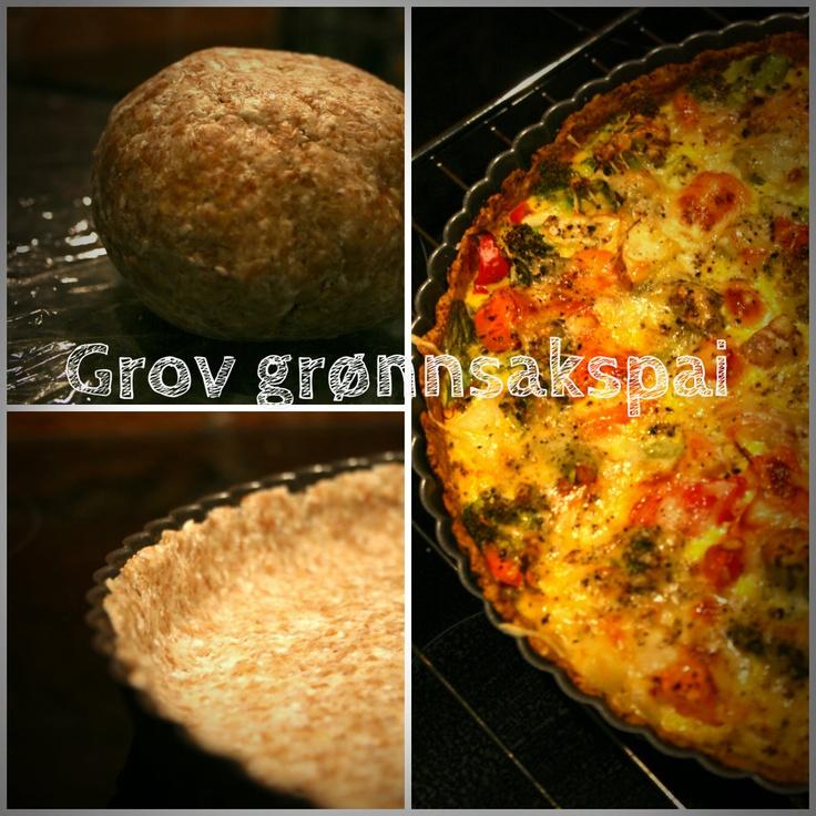 Cooking with July: Grov grønnsakspai