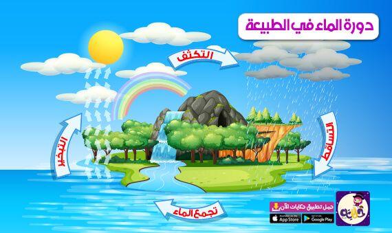 قصة عن دورة الماء في الطبيعة للاطفال بالصور In 2021 Alphabet