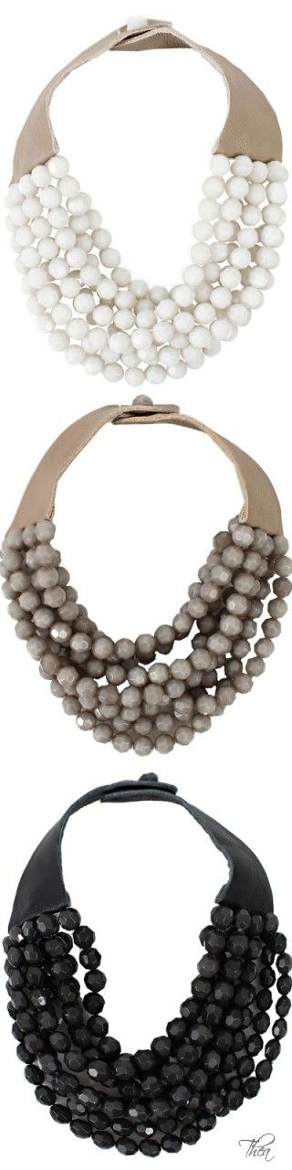 Safari Chic ● Fairchild Baldwin, Bella Beaded Necklace: