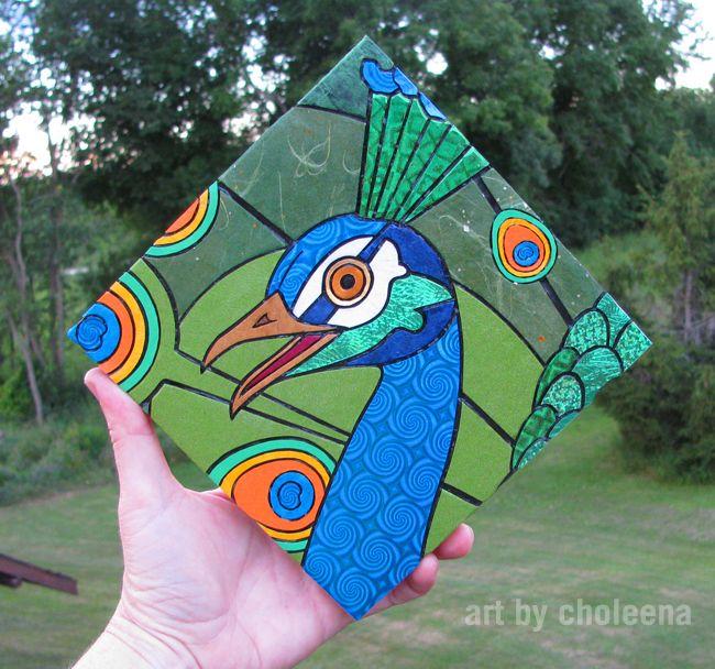 Peacock - Art by Choleena