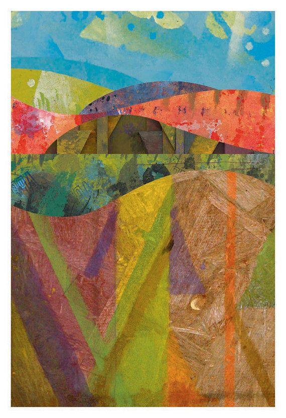 Landscape Poster 3 by johnhunterhousley on Etsy, $10.00