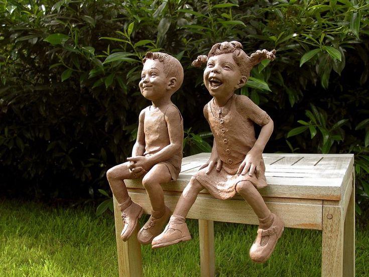 Happy sculptures