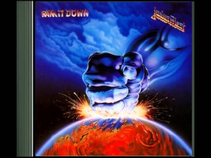 Judas Priest -  Ram it Down (1988) full album