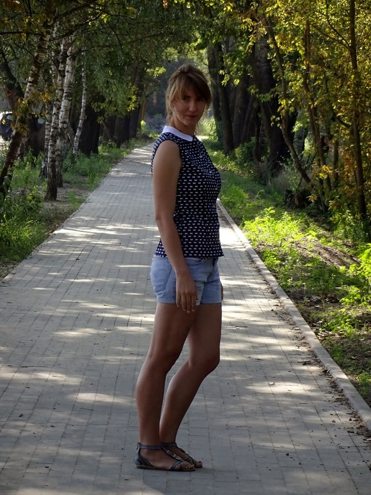 bluzka Burda skpk 1/2015 (2 C); blouse