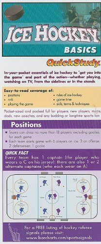 Ice Hockey Basics (Quickstudy: Sports) « LibraryUserGroup.com – The Library of Library User Group