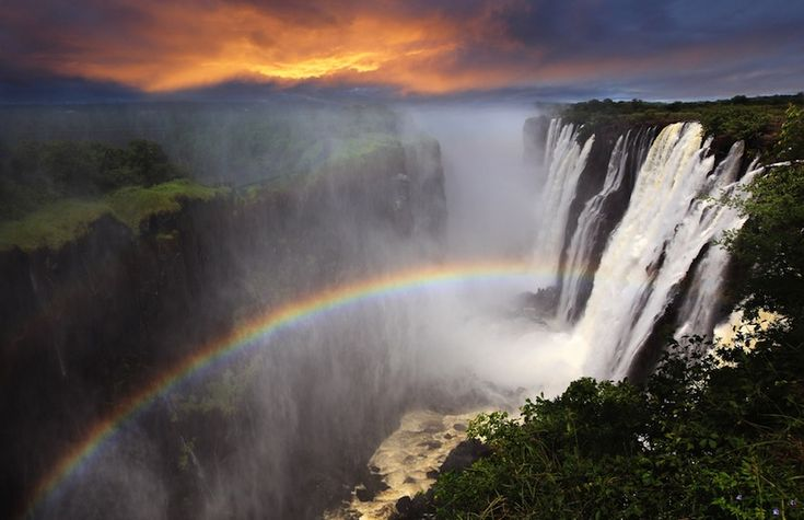 Now, even those who can't make it to Africa can get an unforgettable look at Victoria Falls.