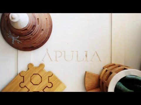 APULIA DESIGN – The charm of Puglia lives again in the timber and through his most famous shapes.   Madeinitaly For Me