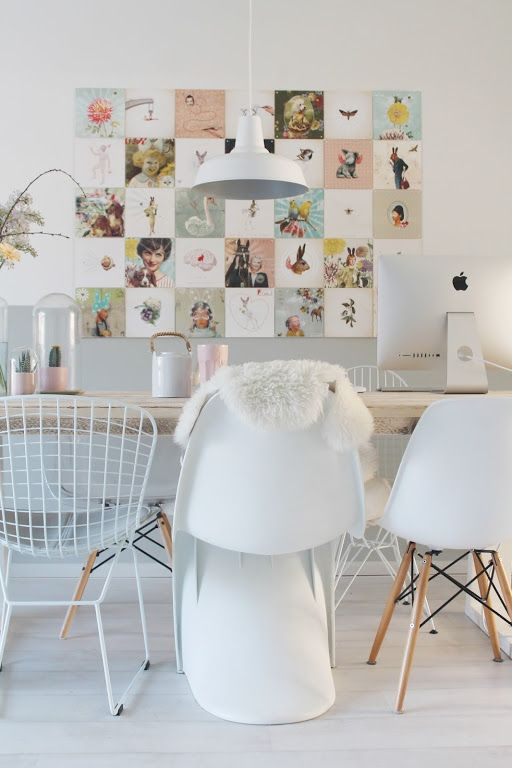 The Sweet Poetry IXXI in the home of MissJettle. Get inspired at www.ixxidesign.com/inspiration  #IXXI #ixxiyourworld #home #interior #inspiration #pastel #illustration #pink #pretty #style #walldecoration #love