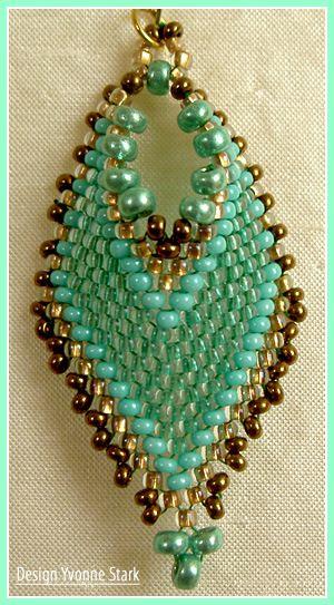 Really nice pendant shape - Russian Leaf adaptation?