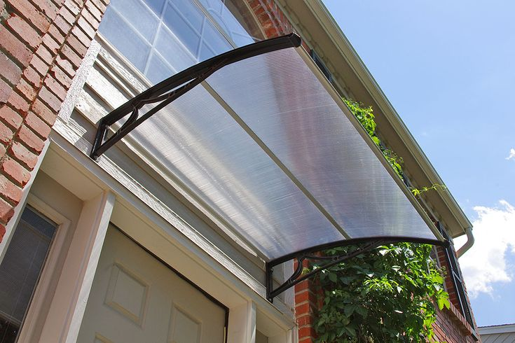PC900 Series Door Canopy - a stylish and affordable door canopy that can take up to hurricane strength winds.
