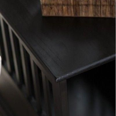 Pet Crate End Table Dog Cage Kennel Furniture Bed Wood Indoor Large Medium Cat - ShopMonkeez - 6