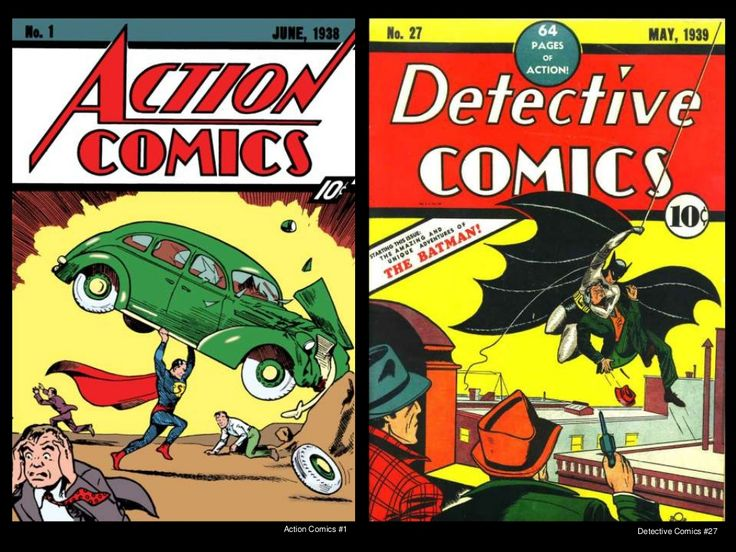 Action Comics #1 Detective Comics #27 #comics #batman #superman