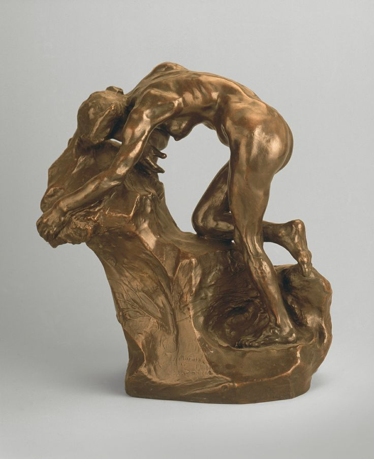 Josef Mařatka (1874–1934), Opuštěná Ariadna, 1906 / bronz, v. 30,5 cm, š. 25 cm / Muzeum umění Olomouc