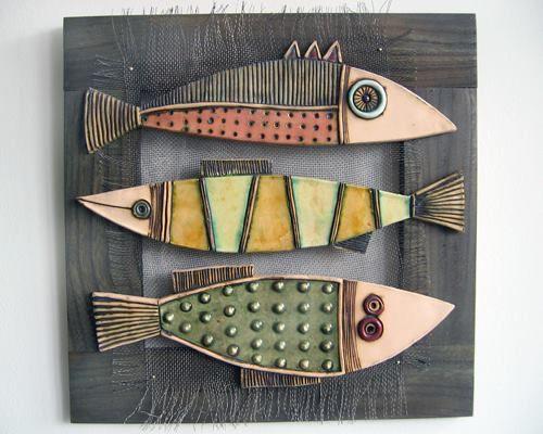 Fish ceramic