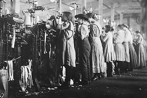 Victorian Children at Work-Mill
