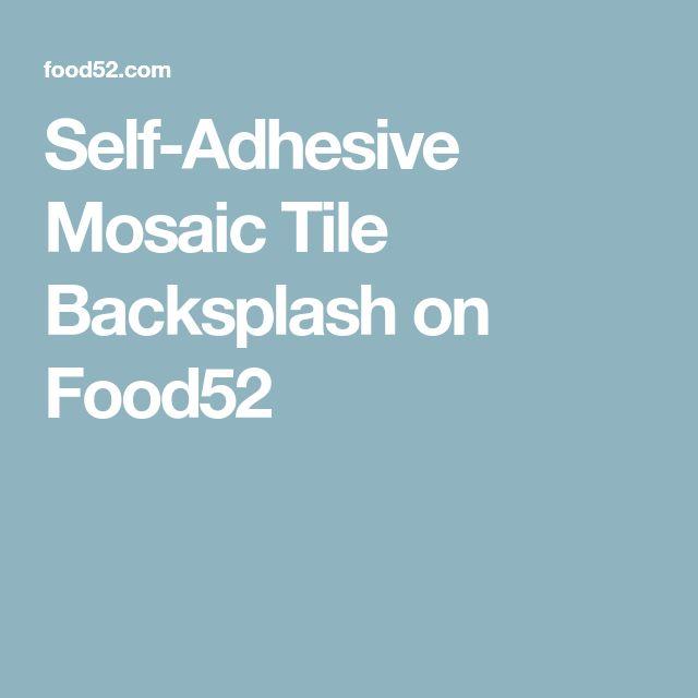 Die besten 25+ Self adhesive backsplash Ideen auf Pinterest - h he fliesenspiegel k che