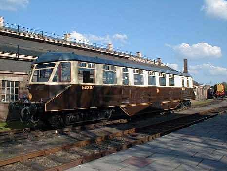 GWR Railcar - No 22 - The GWR built 38 Railcars between 1933 and 1942. The…