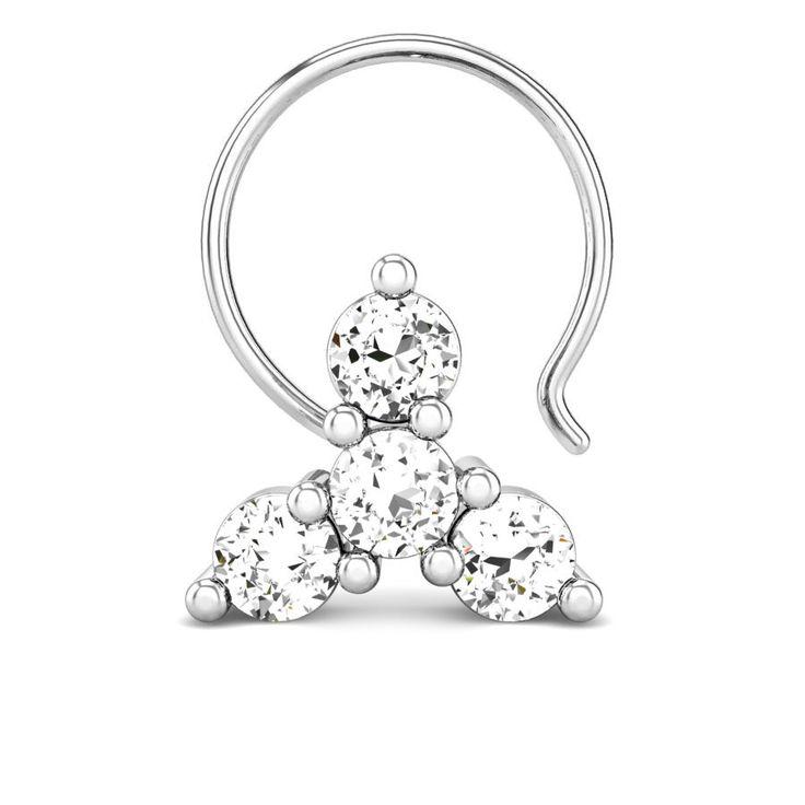 Jaisree Diamond Nose Pin