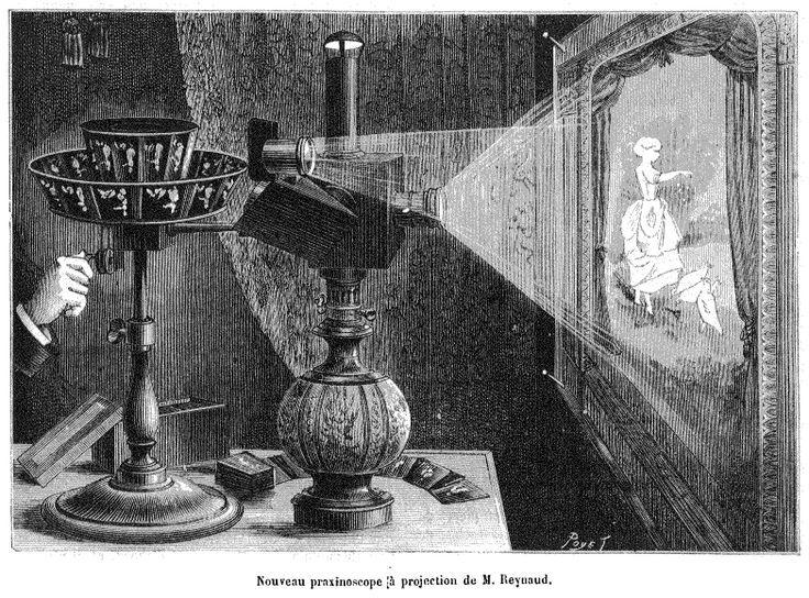 Image result for praxinoscópio