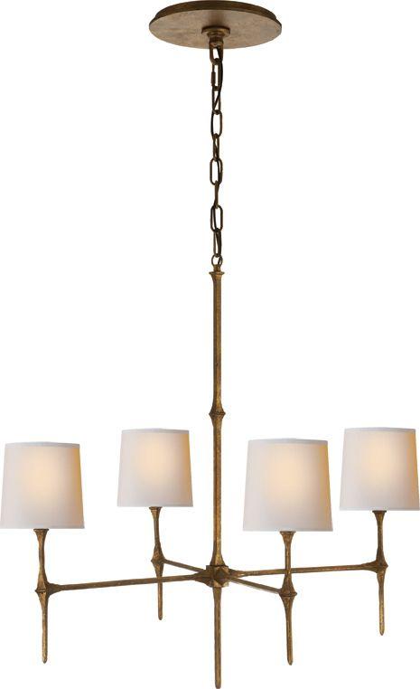 antique brass chandelier modern - Google Search