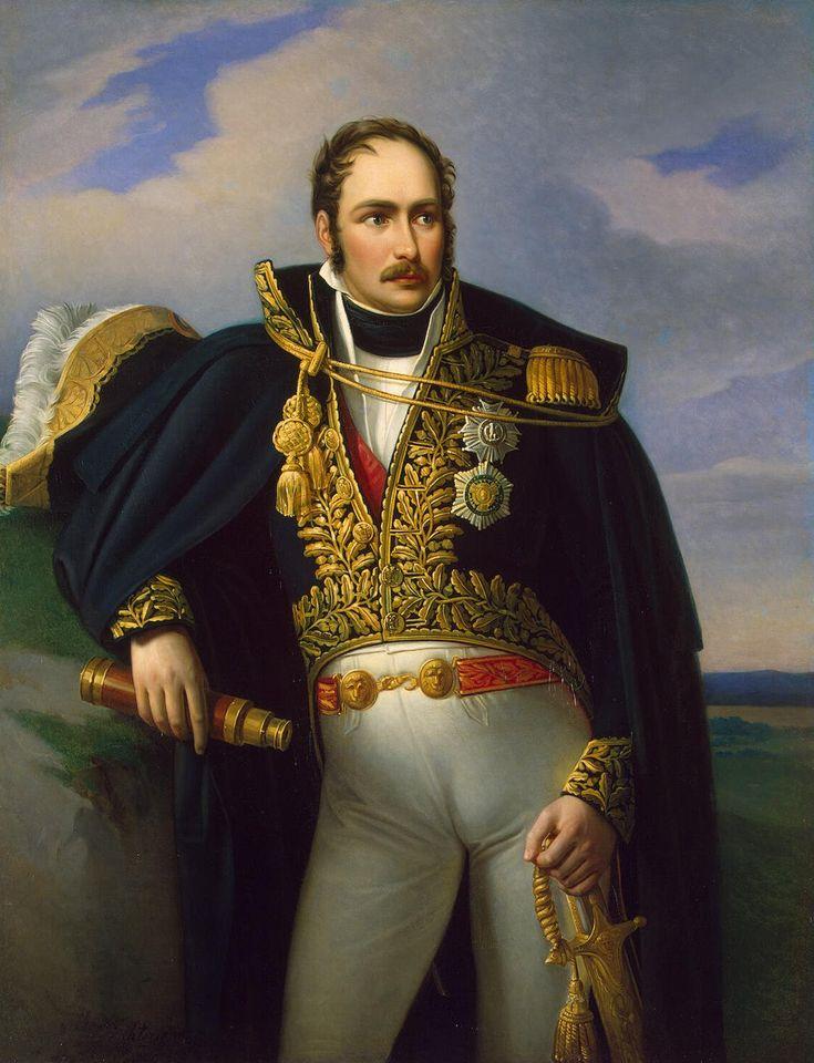 Portrait of Josephine's son Eugene de Beauharnais by  Johann Heinrich Richter