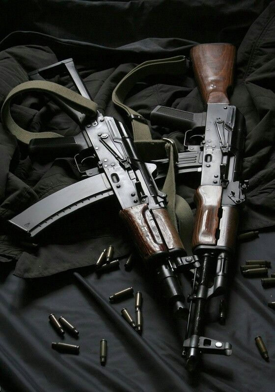 AK-74 and AKS-74u