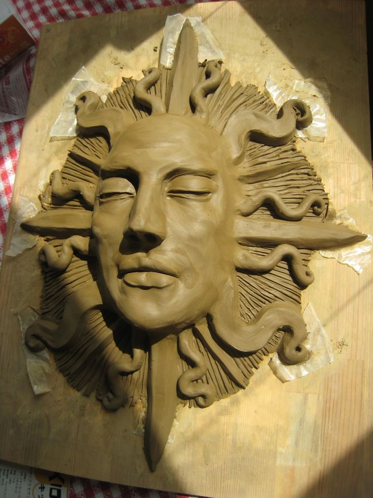 interesting sleeping sun face