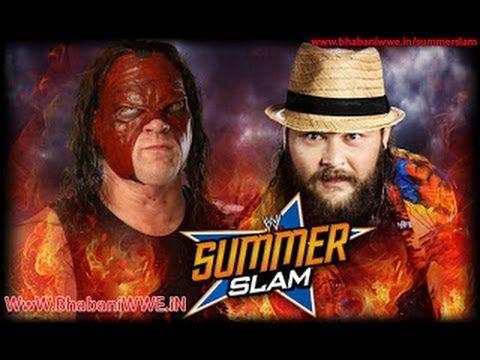 WWE SummerSlam 2013 - Kane Vs Wyatt Family Full Match