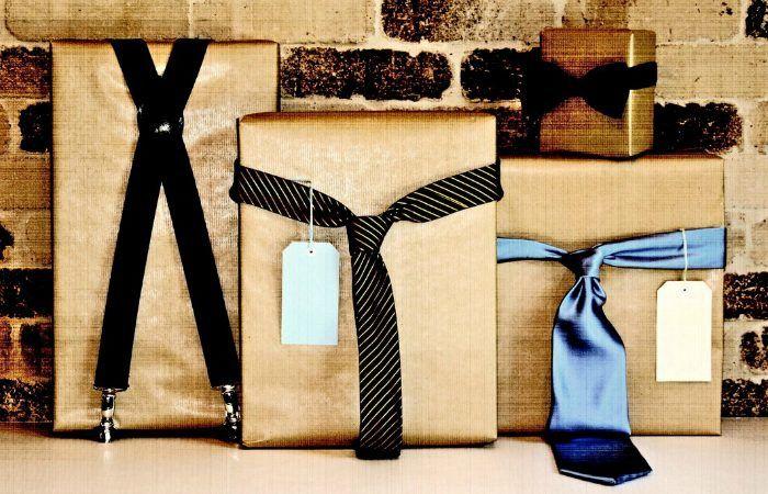 Идея упаковки подарков папе или мужу / Упаковка подарков / ВТОРАЯ УЛИЦА