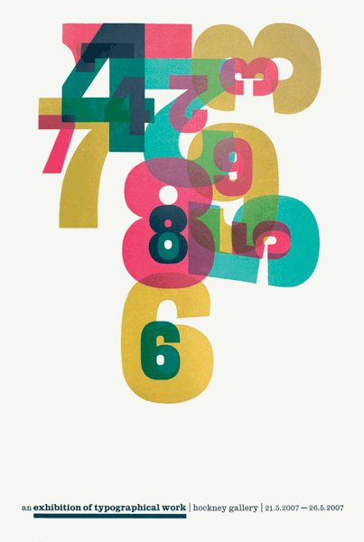 exhibition of typographical work