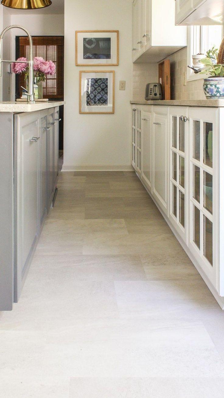 Lvt Flooring Over Existing Tile The Easy Way Vinyl Floor Installation Diy In 2020 Lvt Flooring Diy Flooring Vinyl Flooring