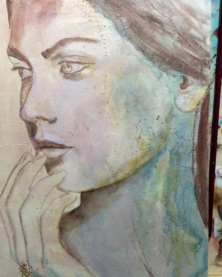 in progress #scketch #oilpainting #oilpaint #beauty #originalart #painting #paint #artwork #almazzaglia